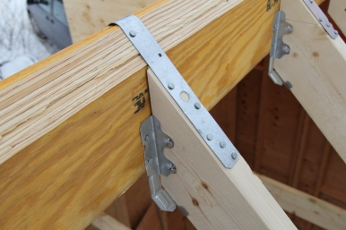 Hangers and tension tie.