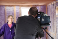 Interviewing Judy Pratt, Tiny Home owner.