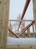 Great day to raise the ridge beam