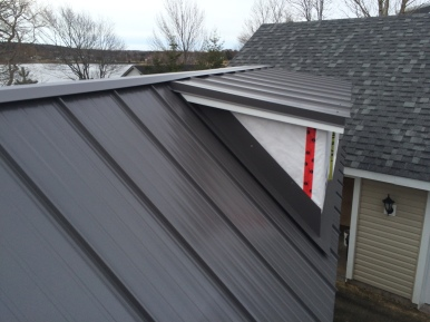Steel Roof is by Ideal roofing - Junior HF Profile